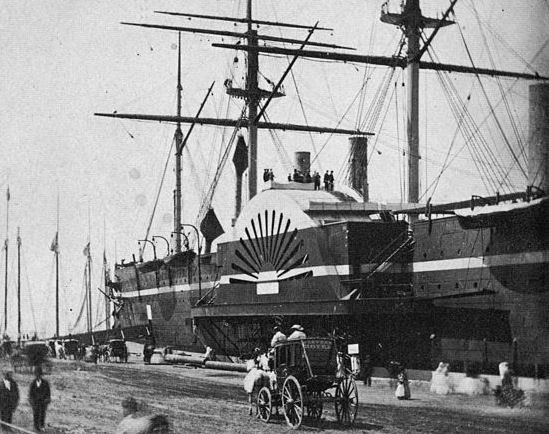 Transatlantic Bridge >> First Transatlantic Voyage of Brunel's SS Great Eastern