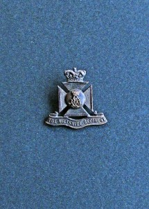 Cap badge for the Wiltshire Regiment