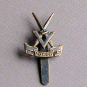 V Force Cap Badge 1943 – 45