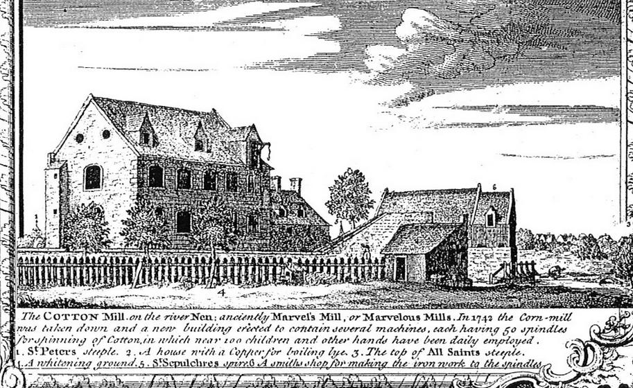 First Cotton Mill Northampton