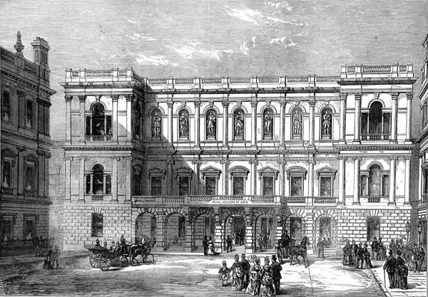 Burlington House London 4th home to Royal Society