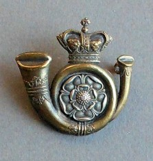 Cap Badge King's Own Yorkshire Light Infantry