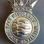 The Royal East Middlesex Militia cap badge