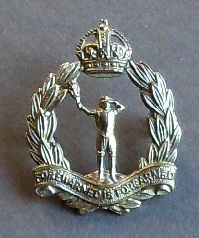 Royal Observer Corps Cap Badge