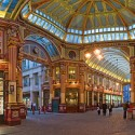 Leadenhall Market an historic marketplace dating back to the 1st century