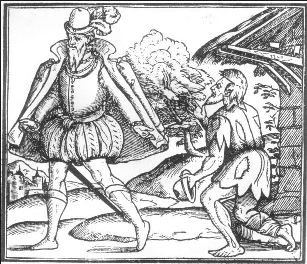 Statute Punishment  of Beggars and Vagabonds 1531