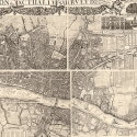 Morgans Map of London Post the Great Fire 1682