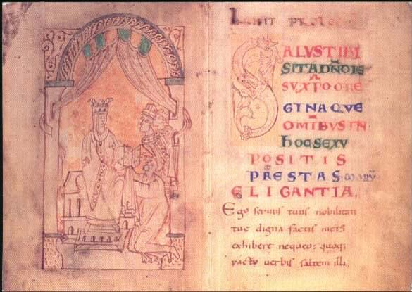 Flemish Monks Treatise on Emma, patchy but a document that tells something