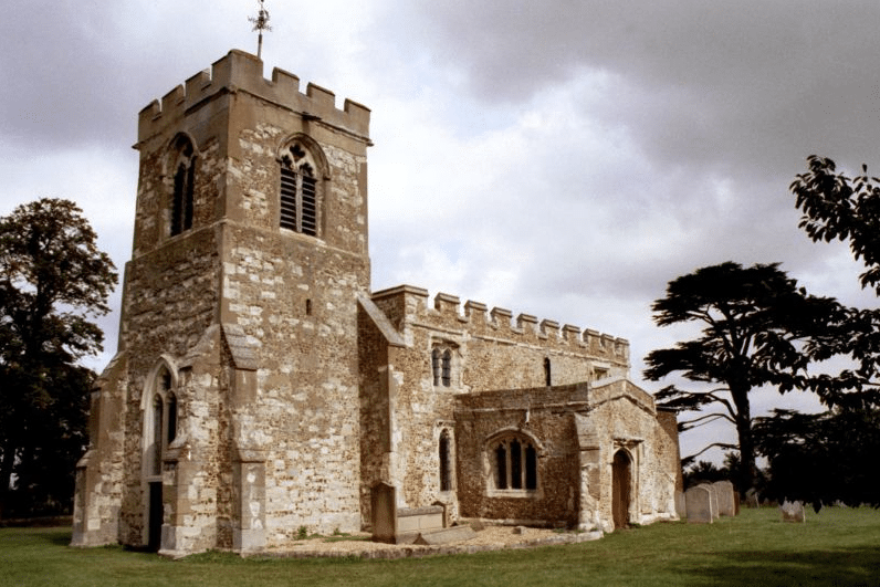 Jane Shore King Edward IV's Mistress is buried at Hinxworth Churg