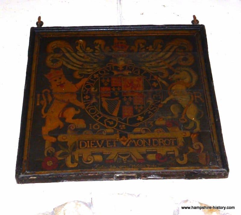 Arms King James I