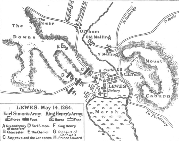 Battle of of Lewes 1264