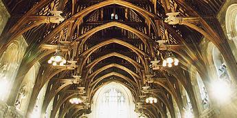 Westminster Hall Hamberbeam roof