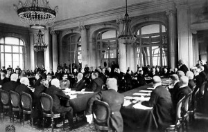 Paris Peace Conference 1919 versailles