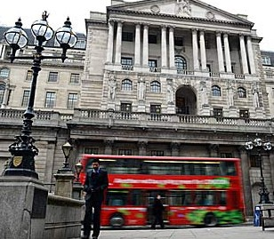 Bank of England Threadneedle Street London