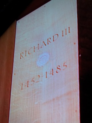 Richard III son of York buried in Leicester