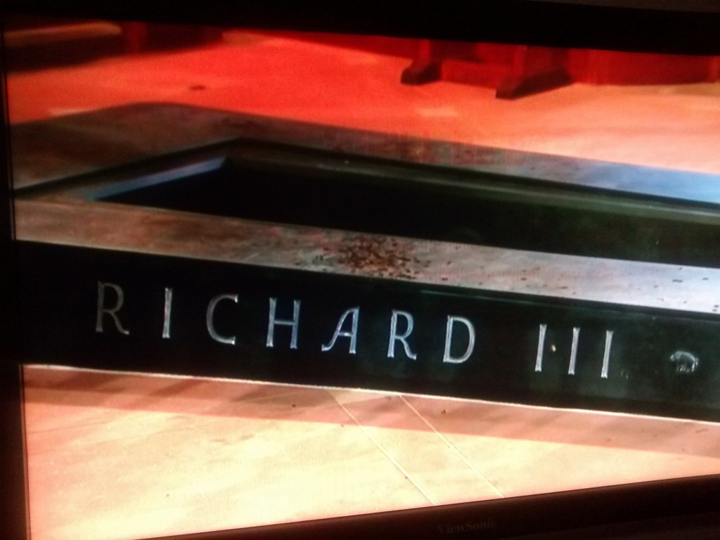 Richard III Tomb 26h March 2015