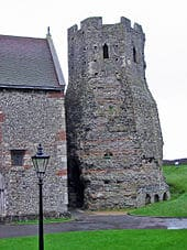 Dover Castle Roman Lighthouse