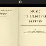 Medieval Music in Britain