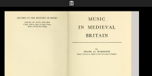 Medieval Music in Britain