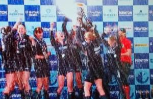 Oxford Womens win University Boat Race 2015