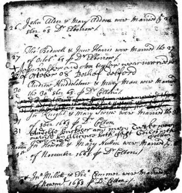 Hardwicke's Marriage Act 1754